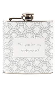 Bridesmaid Flask