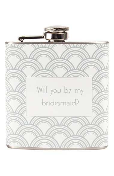 Bridesmaid Flask