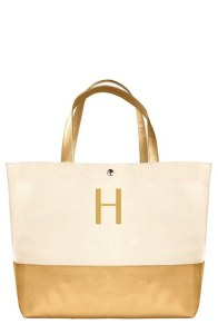 Monogram Canvas Tote