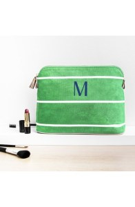 Monogram Cosmetics Case - Green