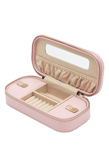 Zip Jewelry Case Open